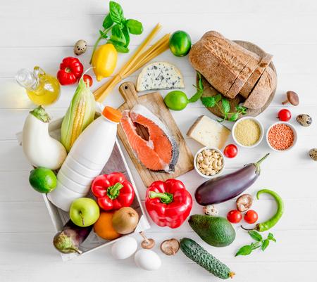 Healthy organic nutritious diet Reklamní fotografie