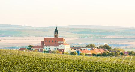 Landscape of czech town Moravia