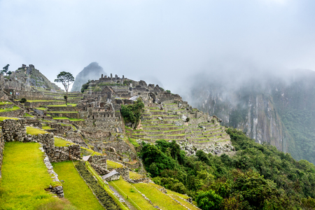 Ancient city of Machupicchu