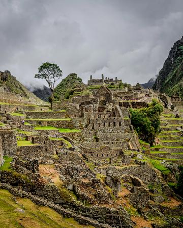 Incredibly beatiful site of Machu Picchu