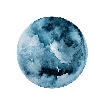 Dark round painting