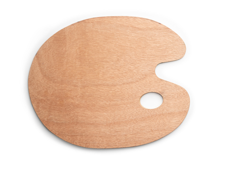 Traditionelle Holzpalette