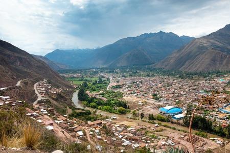 VIew of peruvian city Cusco