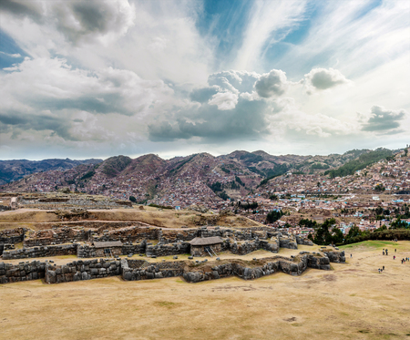 Ruins with beautiful natural site 스톡 콘텐츠 - 124175180