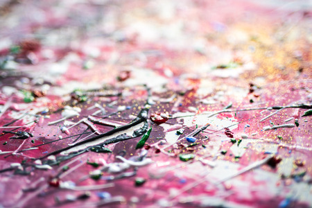 Abstract art painting with soft focus Stockfoto