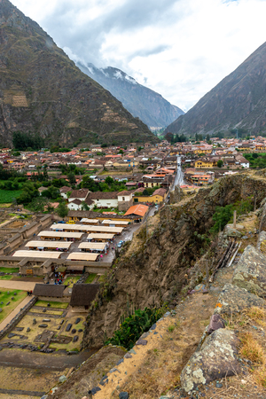 The village near to Cusco, Peru 스톡 콘텐츠 - 124175107