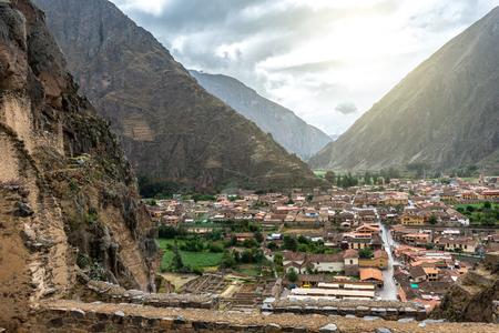 The village near to Cusco, Peru 스톡 콘텐츠 - 124175116