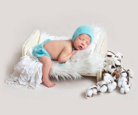 Little baby sweetly sleeping