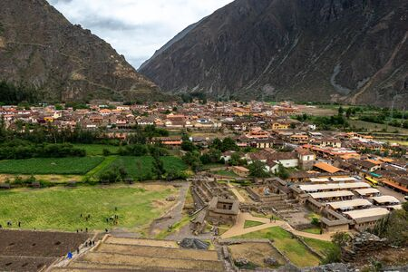The village near to Cusco, Peru 写真素材
