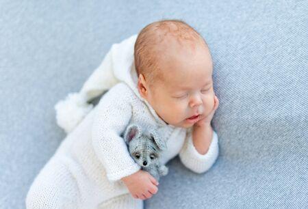 Nice newborn drowsing