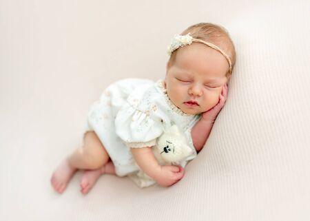 Sweet newborn hugging toy