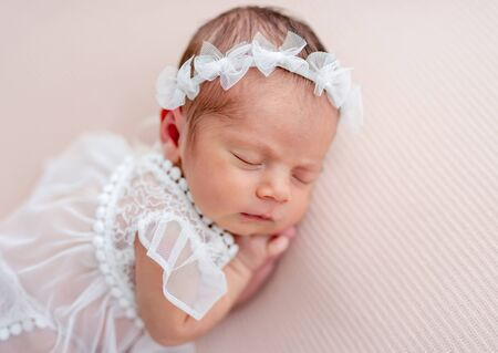 Innocent newborn angel