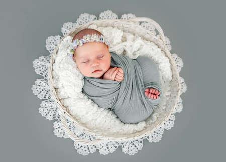 Newborn baby girl photoshoot