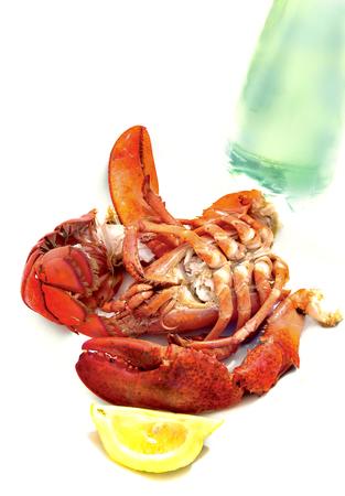 lobster dinner: lobster dinner