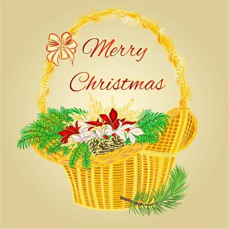 corona de adviento: Corona de Navidad decoración de Adviento con frutas y velas rojas ilustración vectorial