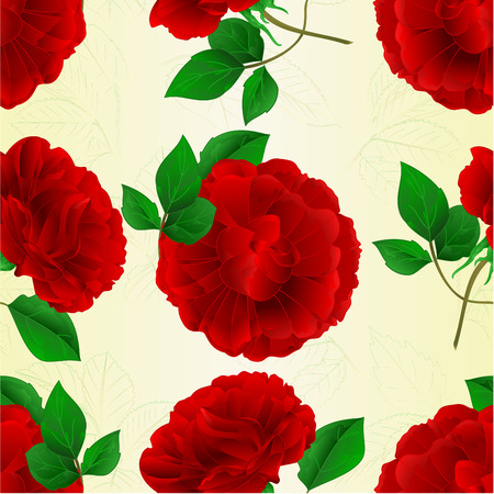 paper background: Seamless texture of roses