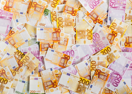 solid background: solid background of euro money.