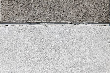 background two-tone concrete, light and dark gray, divided in half Фото со стока