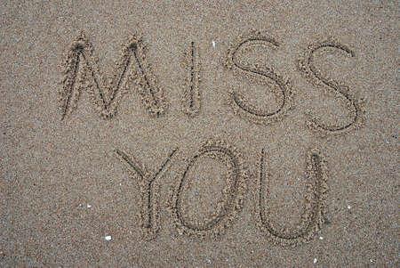genegenheid: Ik mis je