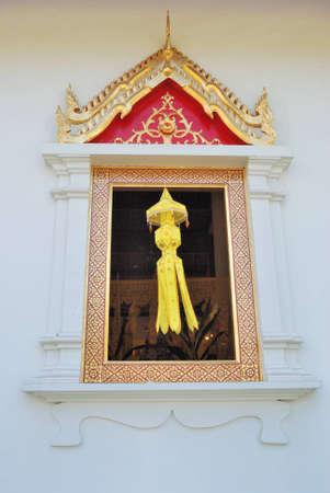 Temple window photo