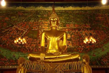 Golden Buddha, Samut Songkhram, Thailand