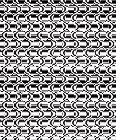 wickerwork: seamless pattern of wickerwork