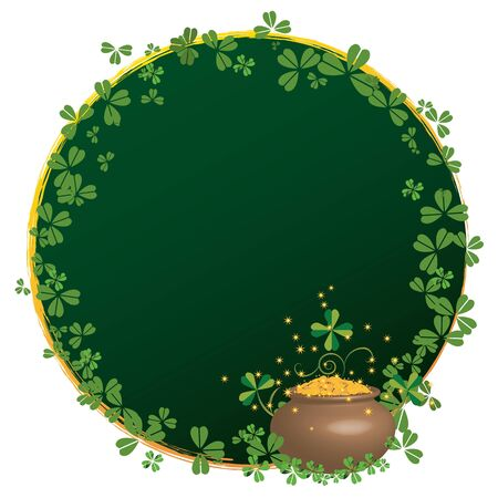 vector frame for St  Patrick Vector