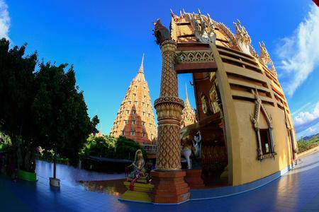 kanchanaburi: Big Beautiful Buddha statue at Tiger Cave Temple (Wat Tham Sua), Kanchanaburi Province, Thailand