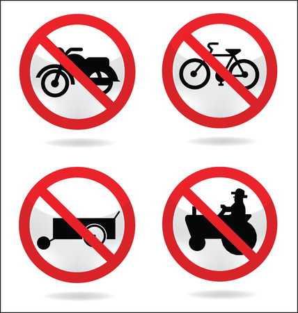 tage: basic traffic sign traffic symbol Illustration