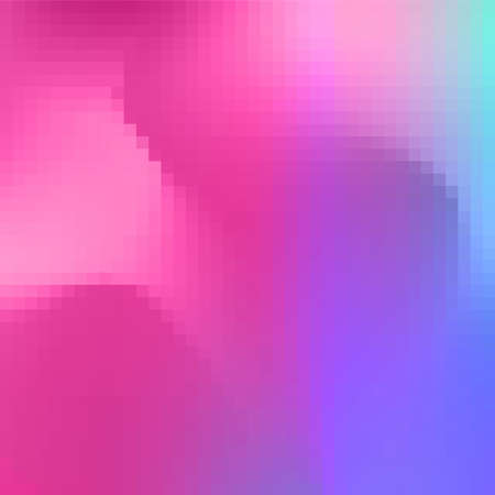 Abstract square pixel mosaic background 向量圖像