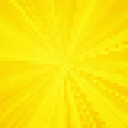 Abstract pixel orange background. Vector illustration 向量圖像