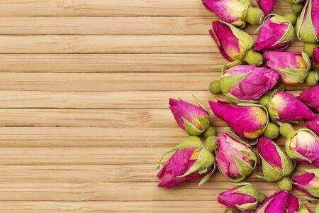 tea rose flowers  background Stock Photo