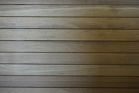 teak wood: line up teak wood for background used Stock Photo