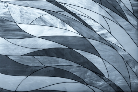 the old architecture: gray abstract shape of mixing line for background used