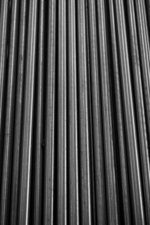 shaft: abstract of line up metal shaft for background used