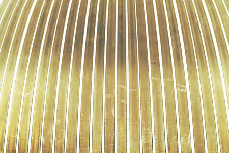 white metal: abstract of golden and white metal lath