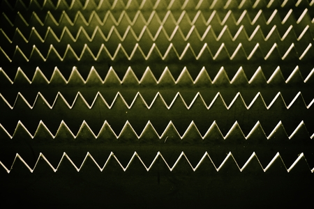sharp: abstract of metal sharp for background used Stock Photo