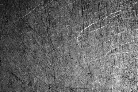 steel industry: abstract of metal scratch for background used Stock Photo
