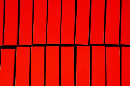 painted wood: abstract of wood lath for background used