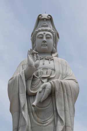 quan yin: The Goddess of Mercy known as Quan Yin or Guan Yin or Guan Yim