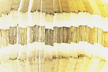 paperboard: close up stack of corrugated paperboard texture for background used