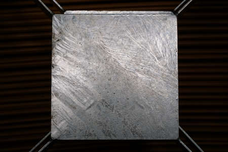 aluminum texture: abstract of aluminum texture for background used Stock Photo
