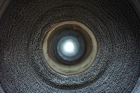 abstraite du concept à la lumière, à la fin du tunnel,