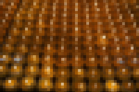 yellow block: abstract yellow mosaic block for background used Stock Photo