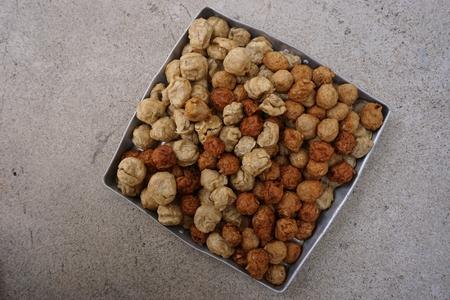 deep fry: mix of deep fry fish ball and shrimp ball
