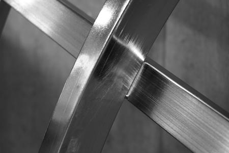abstract van X-metaalvorm voor gebruikte achtergrond