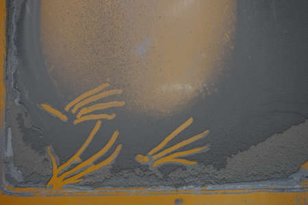 thickness: thickness of dust stick on the metal wall
