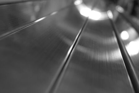 curve line: abstract of metal line for background used Stock Photo