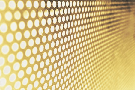 reticular: abstract of round metal mesh texture for background used