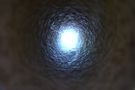light at the end of tunnel: abstract of light at the end of the tunnel